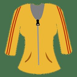 Camisola amarela das senhoras