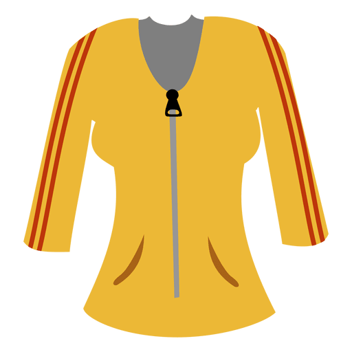 Yellow ladies sweater Transparent PNG