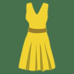 Paño de mujer amarillo