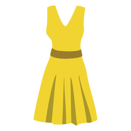 Yellow women's cloth