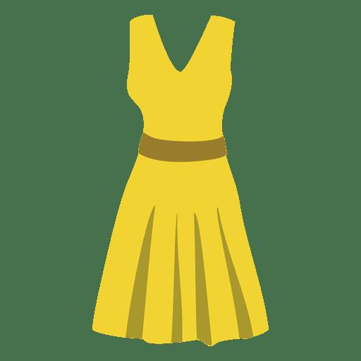 Paño de mujer amarillo Transparent PNG