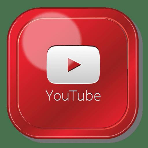 Logotipo cuadrado de la aplicaci?n de youtube