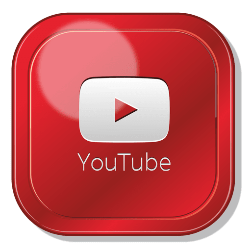 Youtube app square logo - Transparent PNG & SVG vector