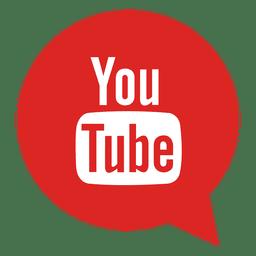 ícone da bolha Youtube