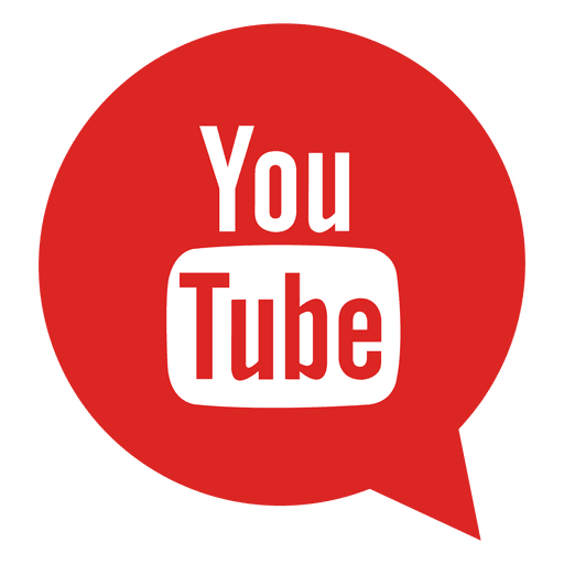 Youtube bubble icon Transparent PNG