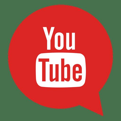 Youtube bubble icon