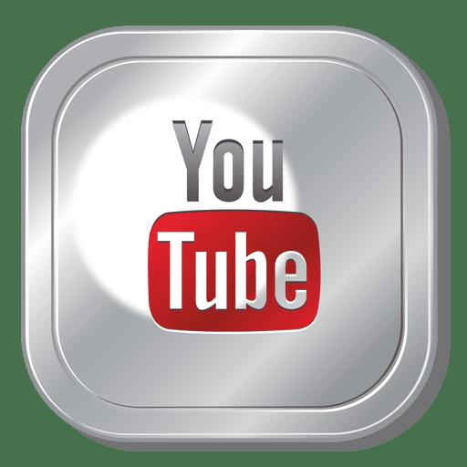 Youtube square logo Transparent PNG
