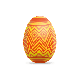 Zigzag lines easter egg