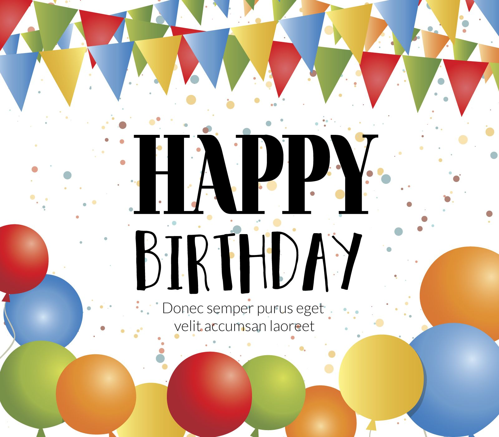 Happy birthday card maker editable design download large image 1600x1400px alramifo Images
