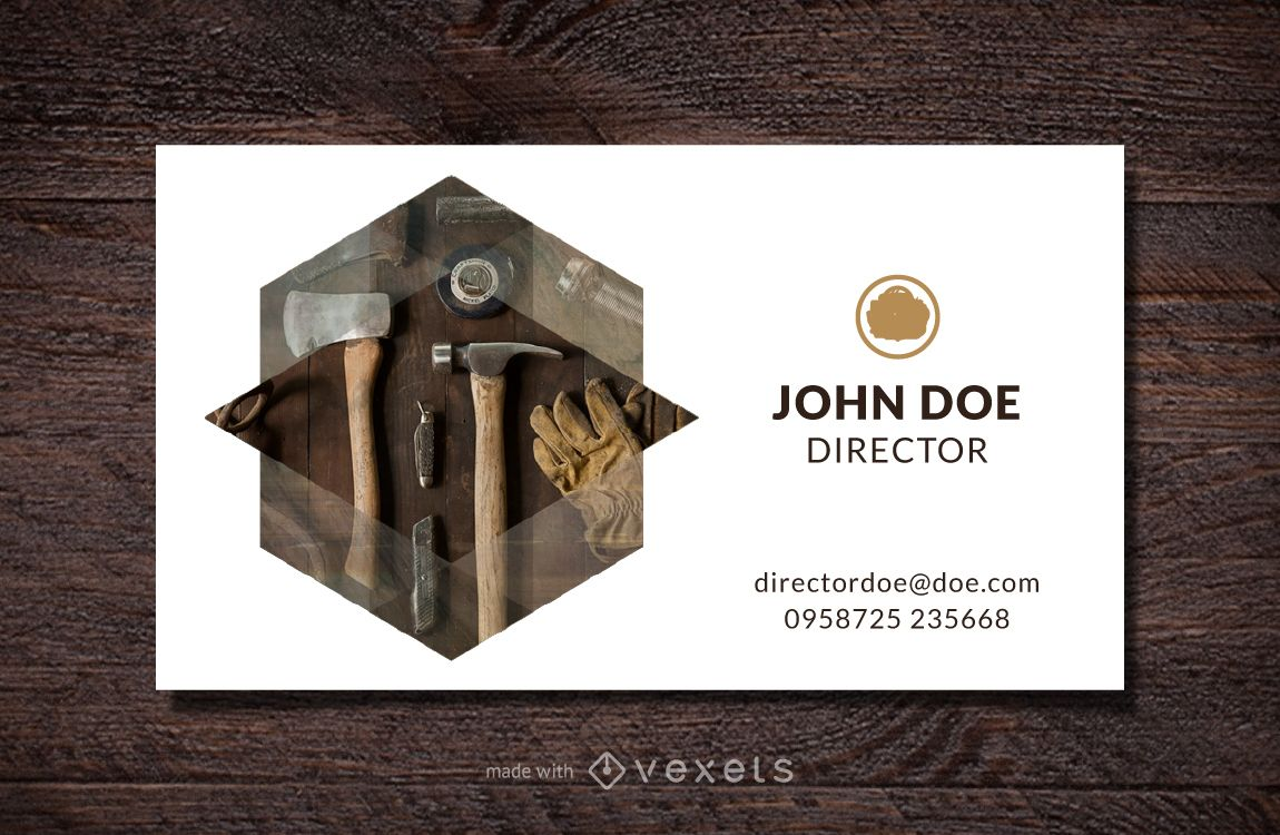 Professional business card maker