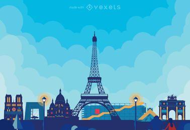 skylines da cidade poster criador