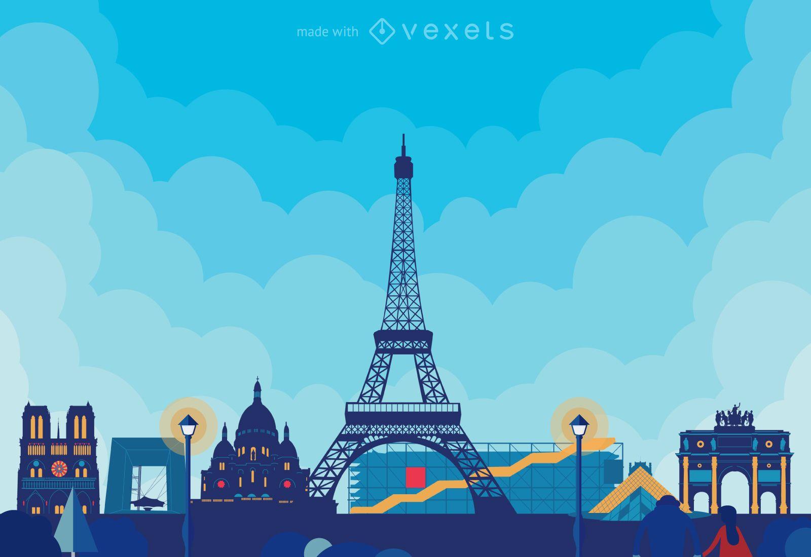City skylines poster creator