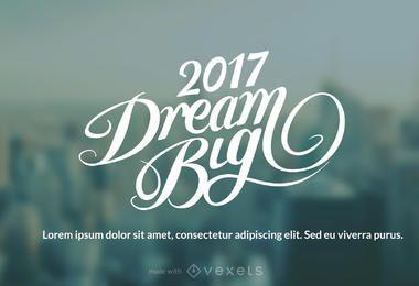 2017 Ano Novo deseja fabricante