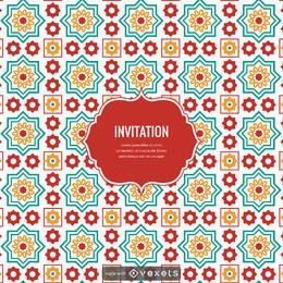 Ramadan arabic tiles design creator