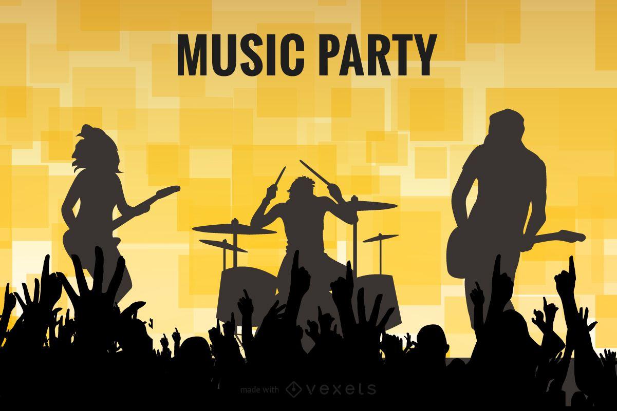 Music flyer poster maker
