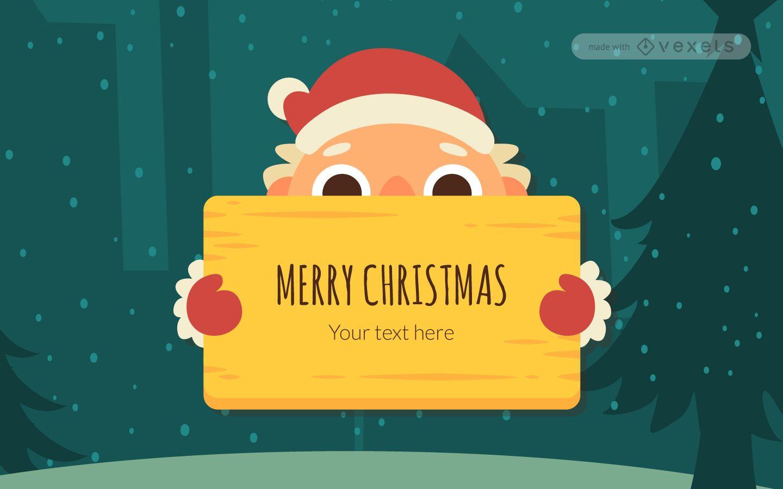 Creador lindo de mensajes navide?os