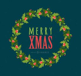 Feliz quadro criador de Natal