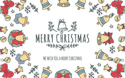 Adorável editor de moldura de Feliz Natal