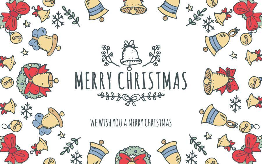Encantador editor de cuadros de feliz navidad