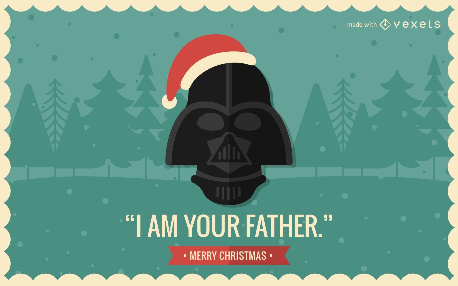 Creador de tarjetas navideñas de cultura pop