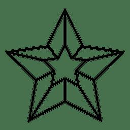 3d estrella náutica