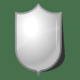 Shield glossy and shinny