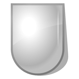 3d shield label