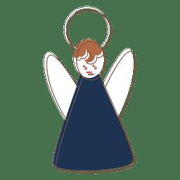 Icono de dibujos animados de angel 69
