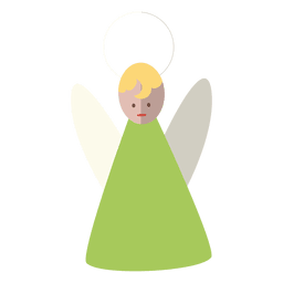 Angel flat icon 14