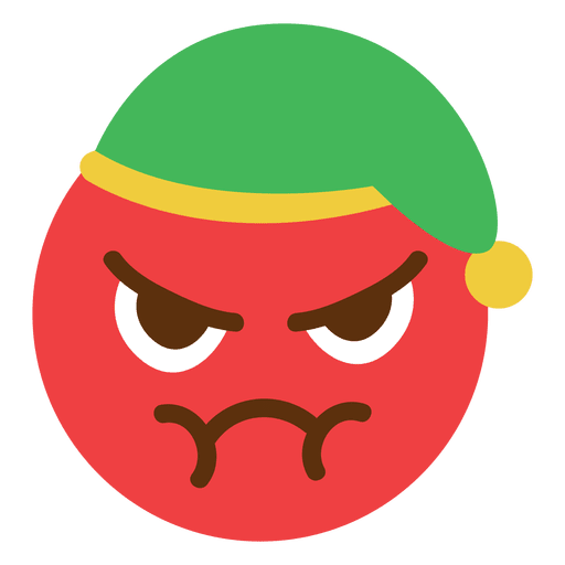 Angry face emoticon - Transparent PNG & SVG vector