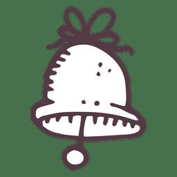 Icono dibujado mano de campana 21