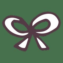 Arco de mão desenhada ícone 47
