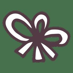 Icono dibujado a mano arco 8