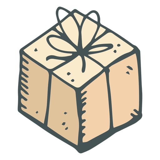 Brown gift box hand drawn cartoon icon 22 transparent png svg brown gift box hand drawn cartoon icon 22 transparent png negle Gallery