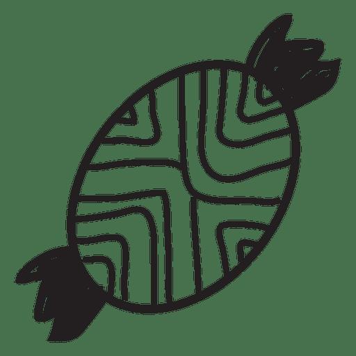 Ícone de traçado desenhado à mão de doces 46 Transparent PNG