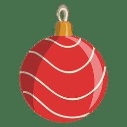 Christmas ball cartoon icon 106
