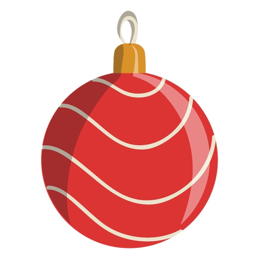Christmas ball cartoon icon 106