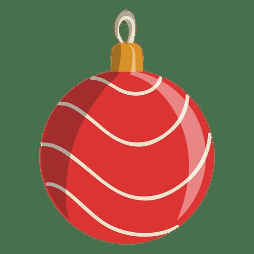 Icono de dibujos animados bola de navidad 106 descargar for Dibujo bola navidad