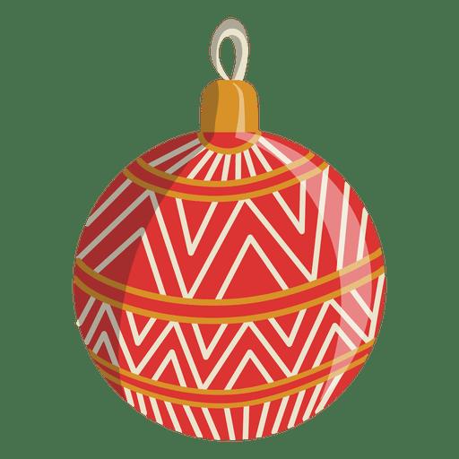 Christmas ball cartoon icon 112