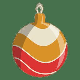 Christmas ball cartoon icon 115