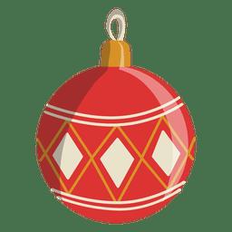 Christmas ball cartoon icon 137