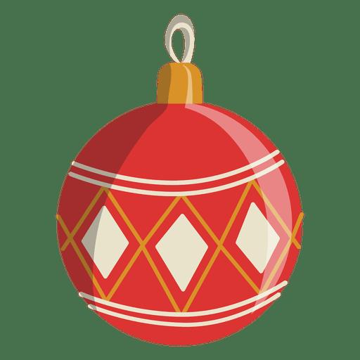 Icono de dibujos animados bola de navidad 137 descargar for Dibujos de navidad bolas