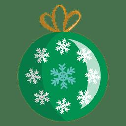ícone dos desenhos animados bola de Natal 15