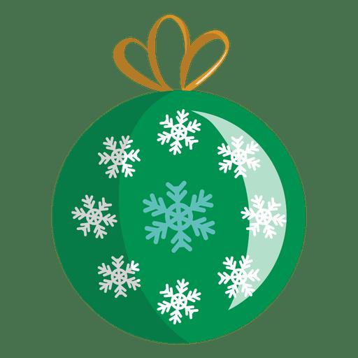 Christmas ball cartoon icon transparent png svg vector