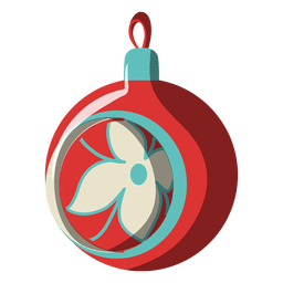 Christmas ball cartoon icon 196