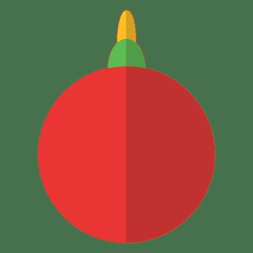 Enfeite De Natal Simples Transparent PNG