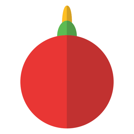Simple Christmas Ornament  Transparent PNG