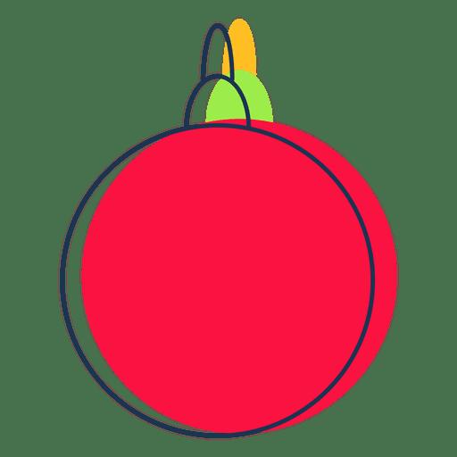 Icono de dibujos animados bola de navidad 40 descargar - Bolas navidad transparentes ...