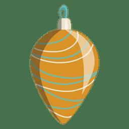 Desenhos animados de bola de Natal 163
