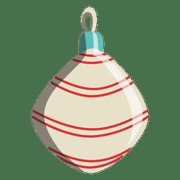 Desenhos animados de bola de Natal 236